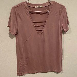 4/25 !! Women pink top